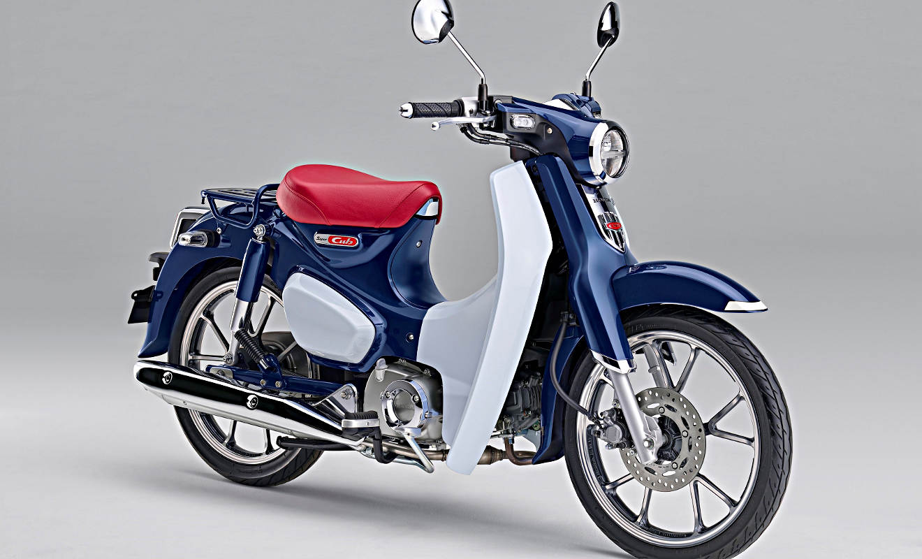 honda super cub c125 r ckkehr eines oldies. Black Bedroom Furniture Sets. Home Design Ideas