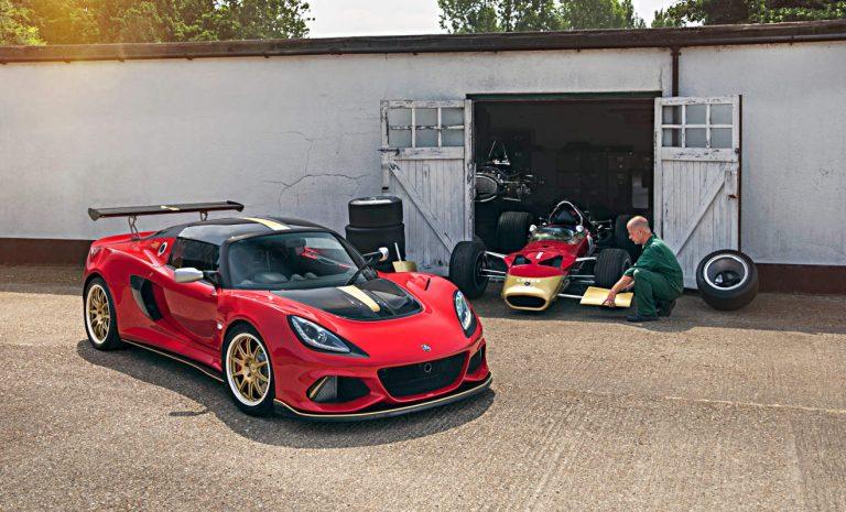 Lotus Exige Type 49 auf dem Festival of Speed