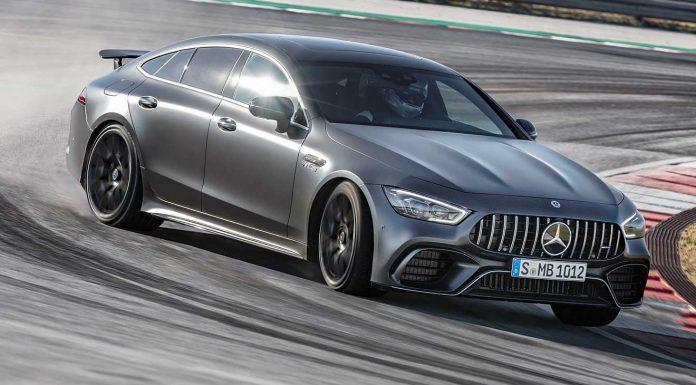 Der Mercedes-AMG GT als Viertürer. Foto: Mercedes-AMG