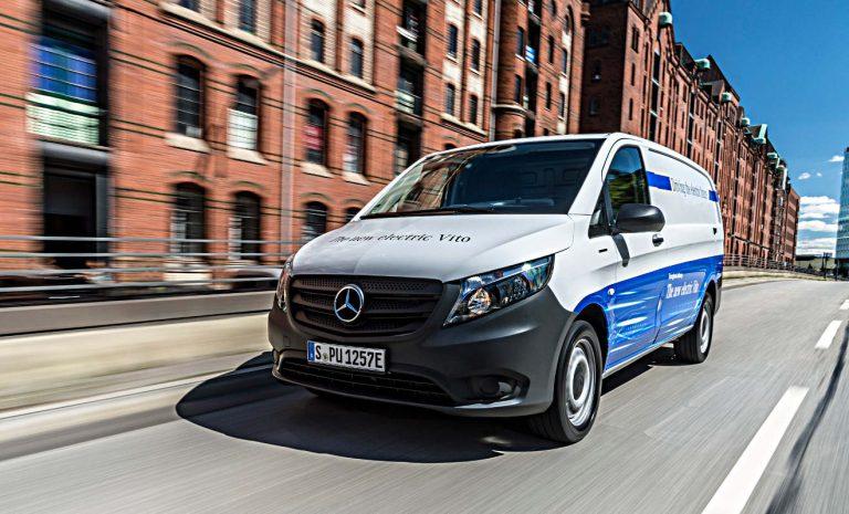 Mercedes eVito: Elektrisch zum nächsten Kunden