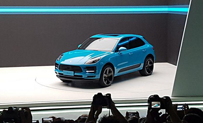 DEr aufgefrischte Porsche Macan. Foto: Porsche
