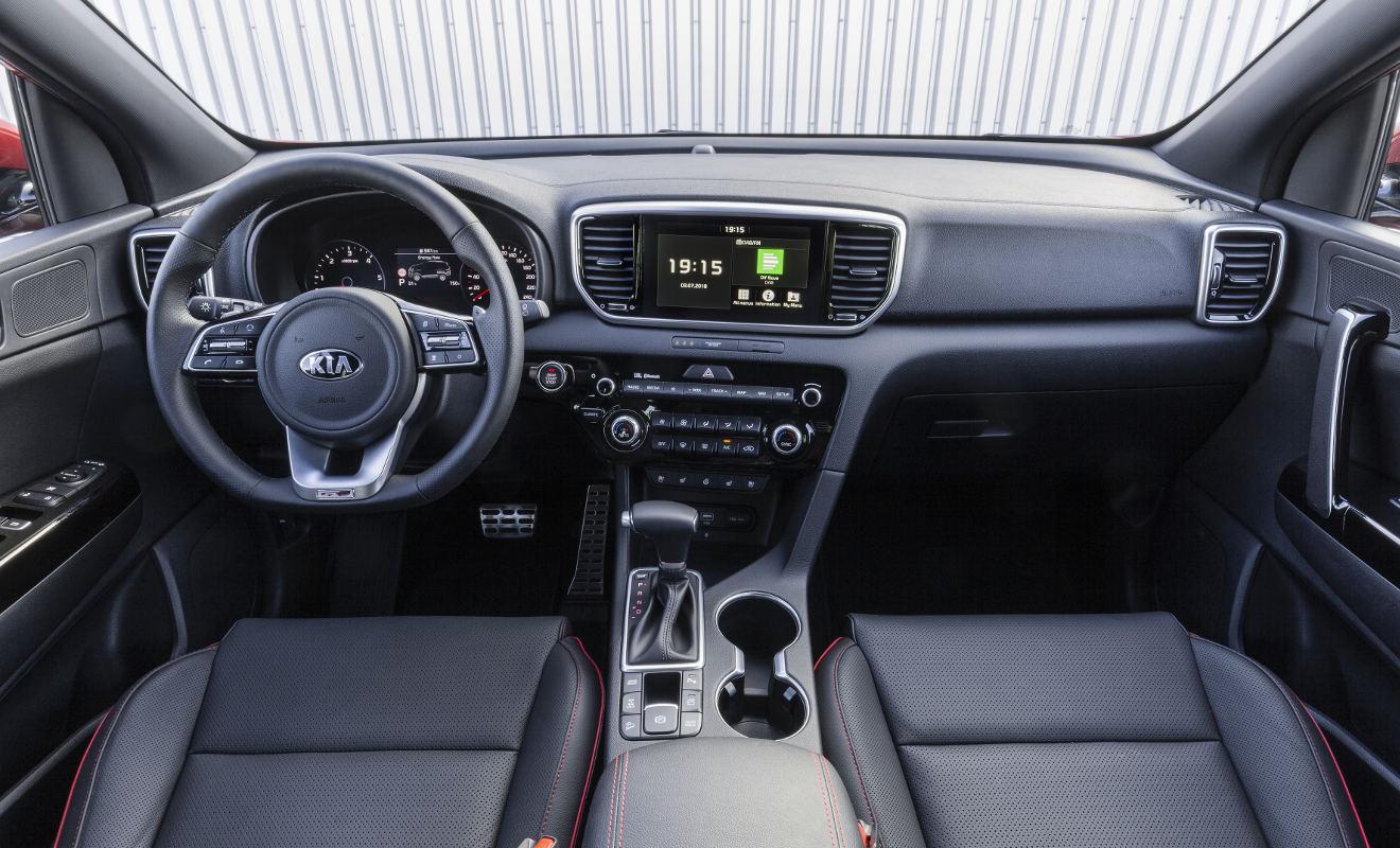Das Cockpit des Kia Sportage. Foto: Kia