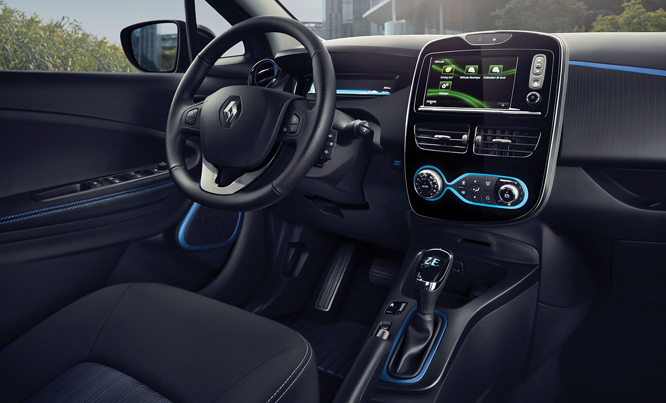 Das Cockpit des Zoe R110. Foto: Renault