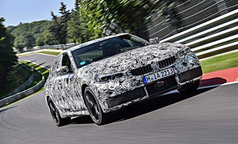 BMW 3er: Mit dem Prototyp auf dem Nürburgring