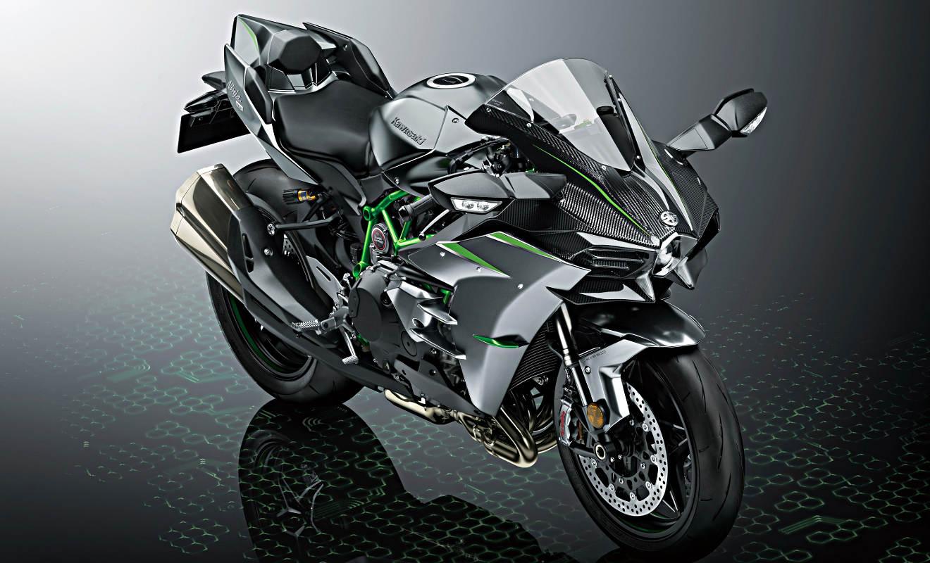 Kawasaki Ninja H2 Nun Mit 231 PS