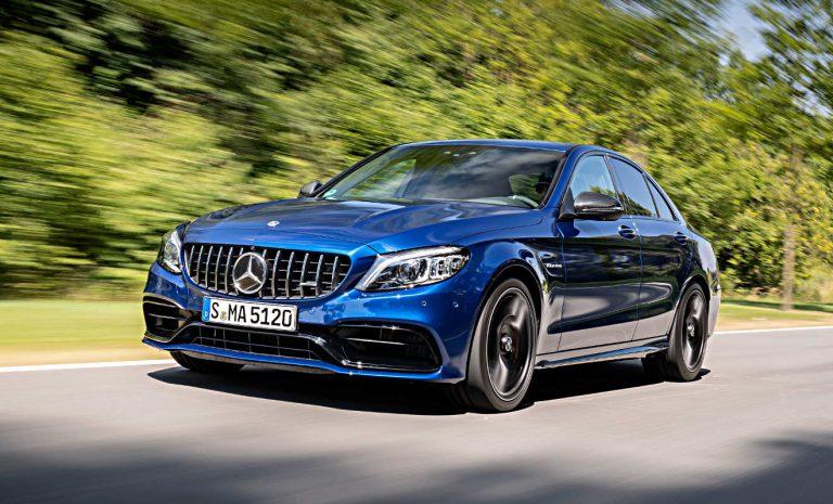 Mercedes-AMG C 63: Noch schneller durch die Kurven