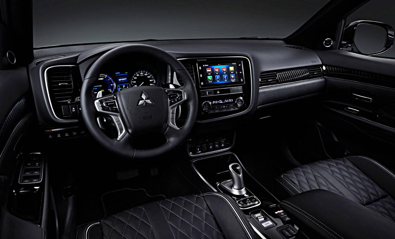 Mitsubishi Outlander Phev Ein Suv Das Piept Autogazette De