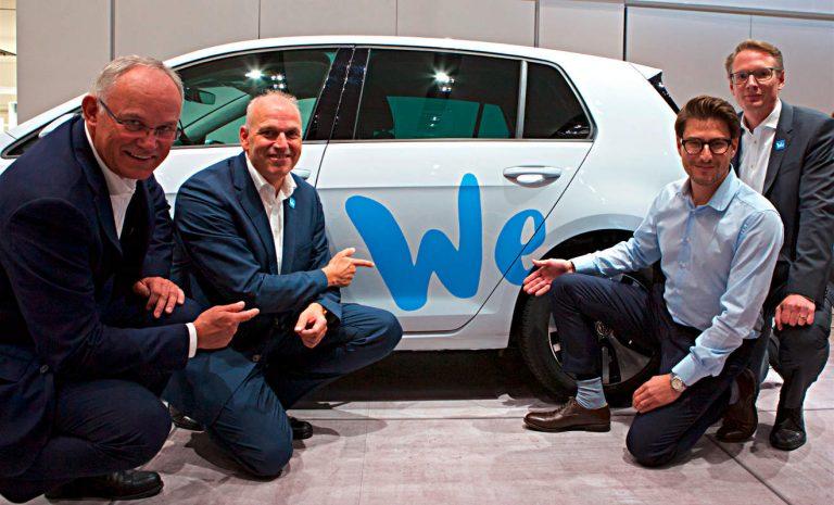 VW We: Ökosystem macht Auto zum Internet der Dinge