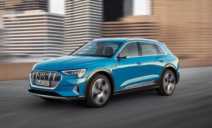 Der E-Tron. Foto: Audi