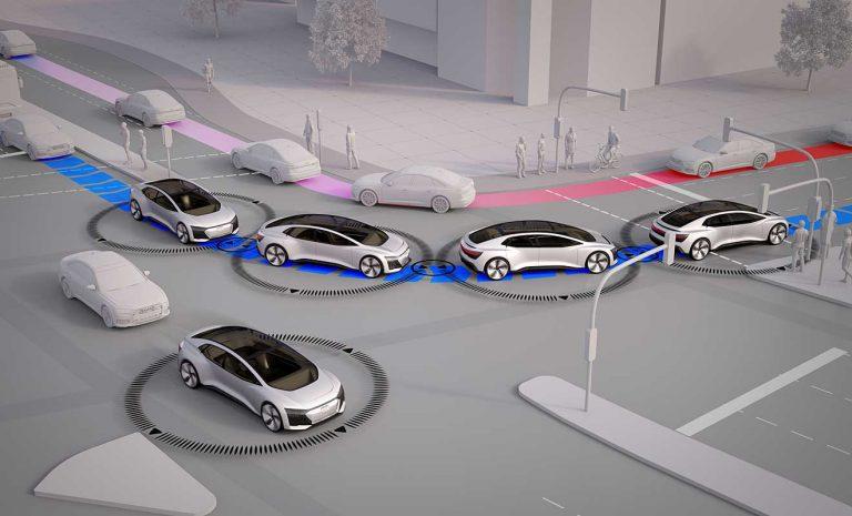 Audi simuliert staufreie Stadt