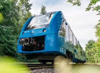 Der Alstom Coradia iLint. Foto: Alstom