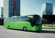 Ein Reisebus von Daimler. Foto: Daimler