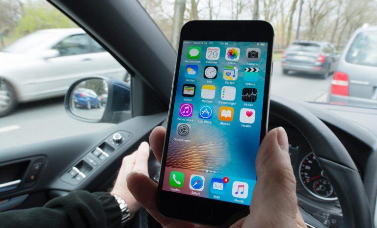 Gefahr Ablenkung: Mehr als 10.000 Handysünder erwischt