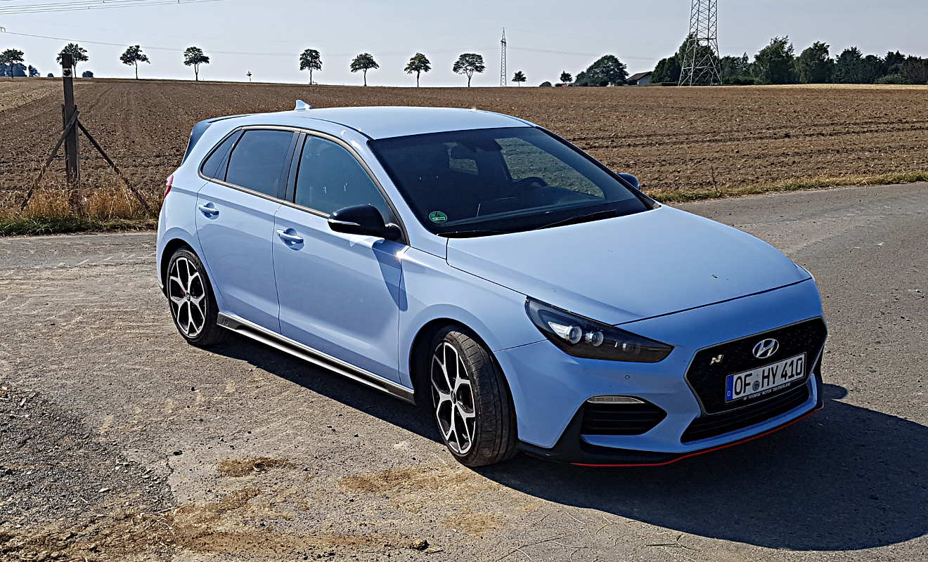 Hyundai I30n Auffallen Garantiert Autogazettede