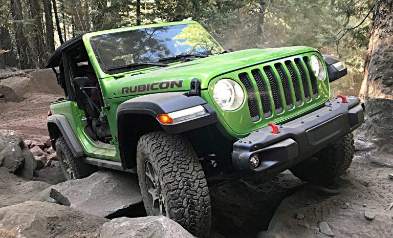 Jeep Wrangler Rubicon: Ihm ist nichts zu schwer