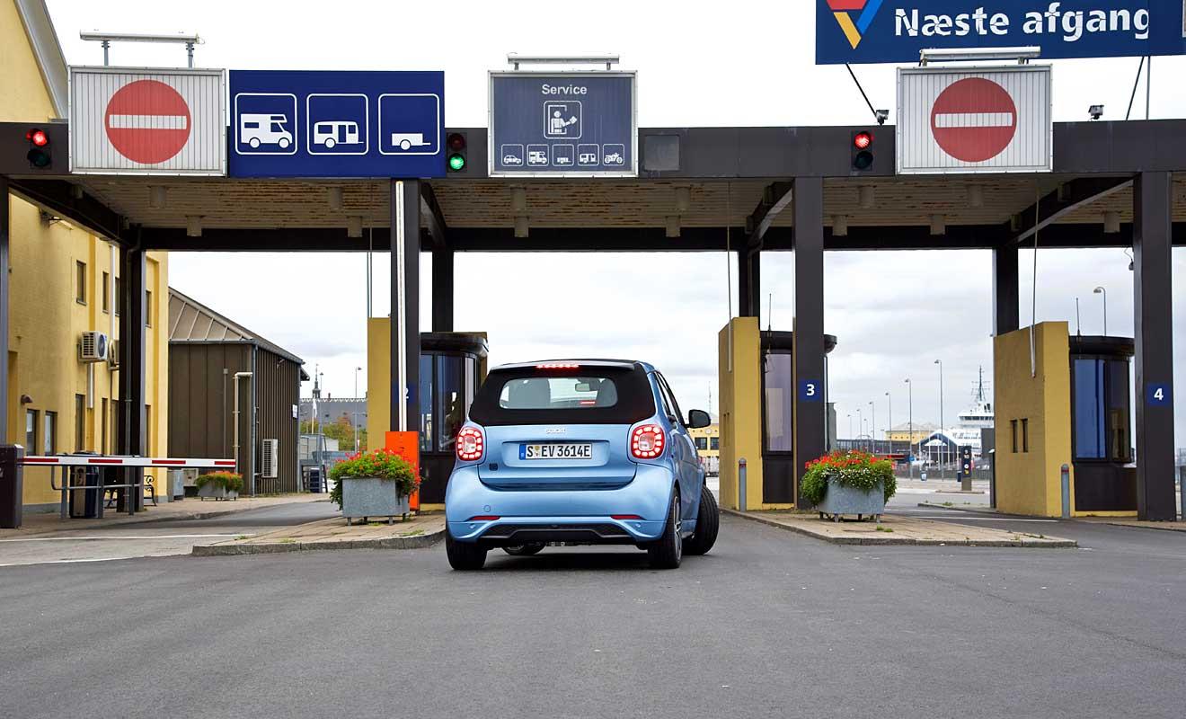 Das Heck des Smart EQ. Foto: AG/Blumenstein