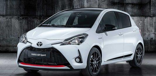 Der Yaris GR Sport. Foto: Toyota
