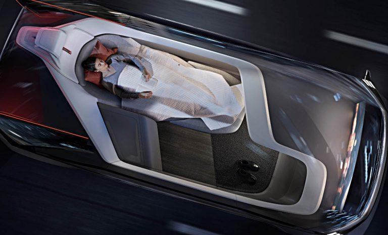 Volvo 360c: Schlafend bis zum Ziel