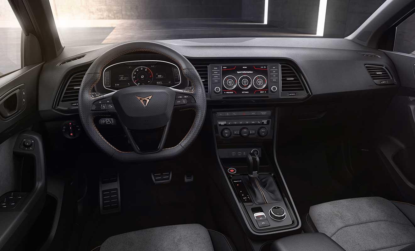 Das Cockpit des Ateca. Foto: Cupra