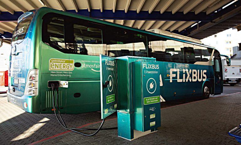 Flixbus schickt Elektro-Fernbus auf deutsche Straßen