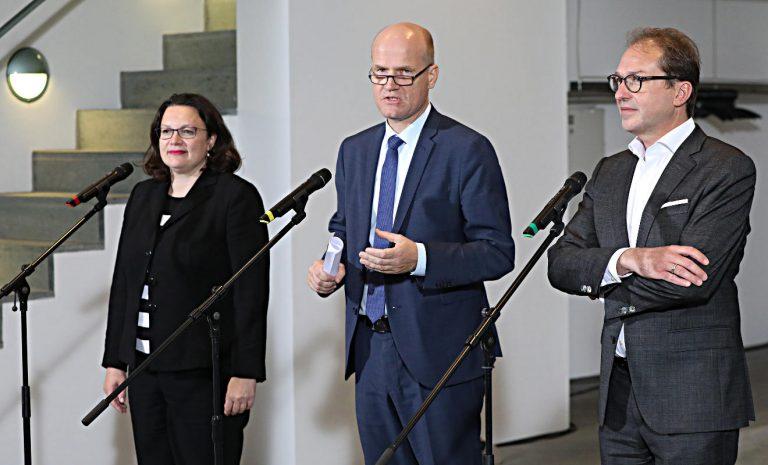 Koalition beschließt Maßnahmen gegen Diesel-Fahrverbote