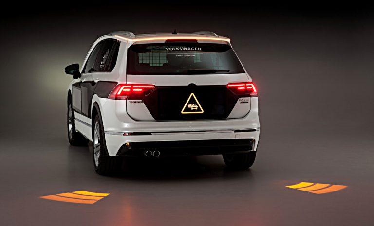 VW lässt Licht mit Verkehrsteilnehmern kommunizieren