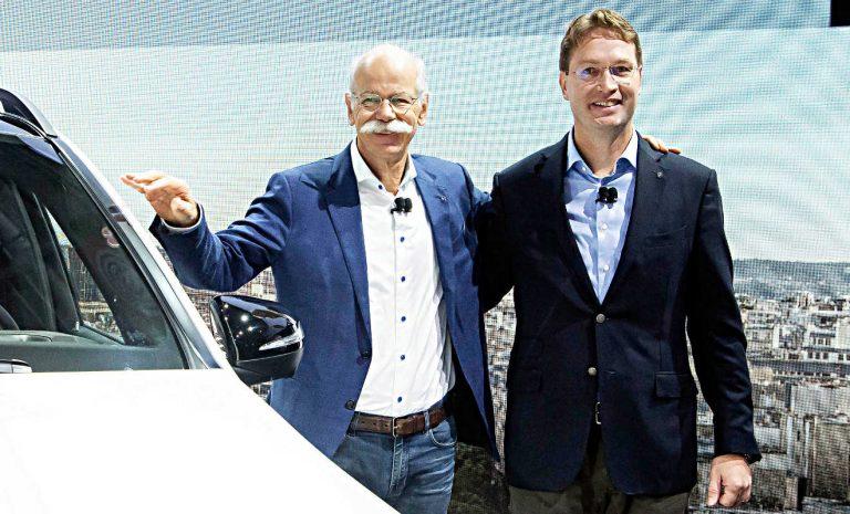Chefwechsel bei Daimler: Zetsche übergibt an Källenius