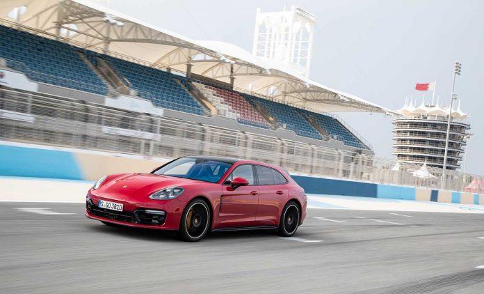 Der Porsche Panamera GTS. Foto: Porsche
