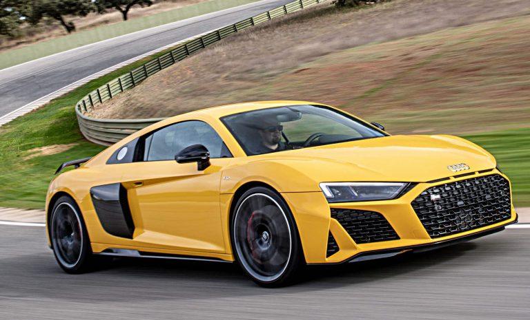 Audi R8: Wie ein Kaugummi auf dem Asphalt