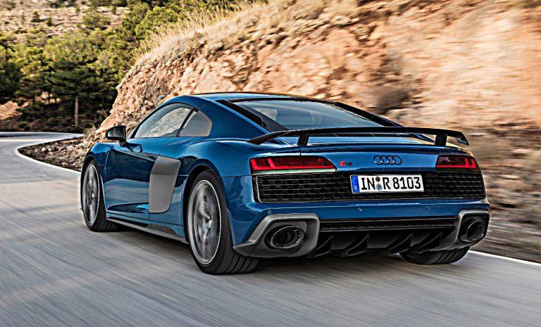 Mehr Performance für Audi R8