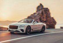 Das neue Continental GT Cabrio. Foto: Bentley