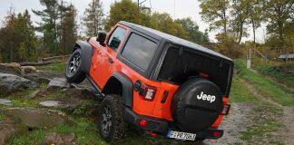 Der neue Jeep Wrangler. Foto: Jeep