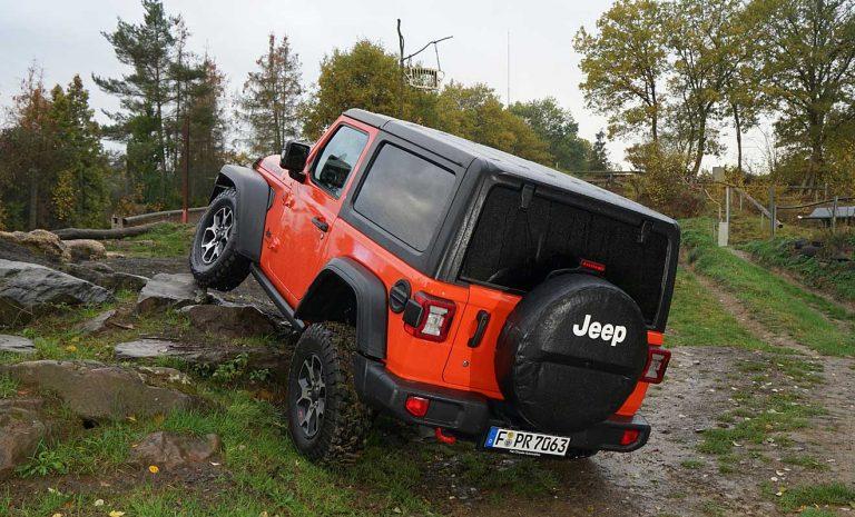 Jeep Wrangler: Die Wühlmaus
