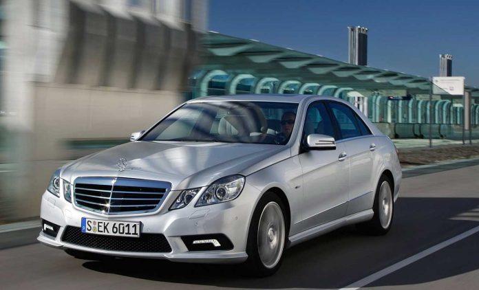 Die Mercedes E-Klasse W212. Foto: Mercedes