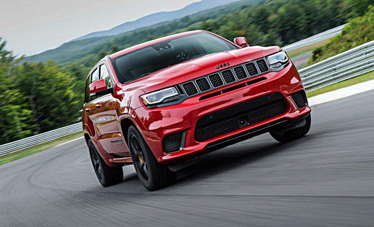 Jeep Grand Cherokee Trackhawk: Aus der Zeit gefallen