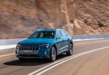 Der e-tron von Audi. Foto: Audi