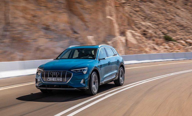 Audi e-tron: Im Zeichen der Stille
