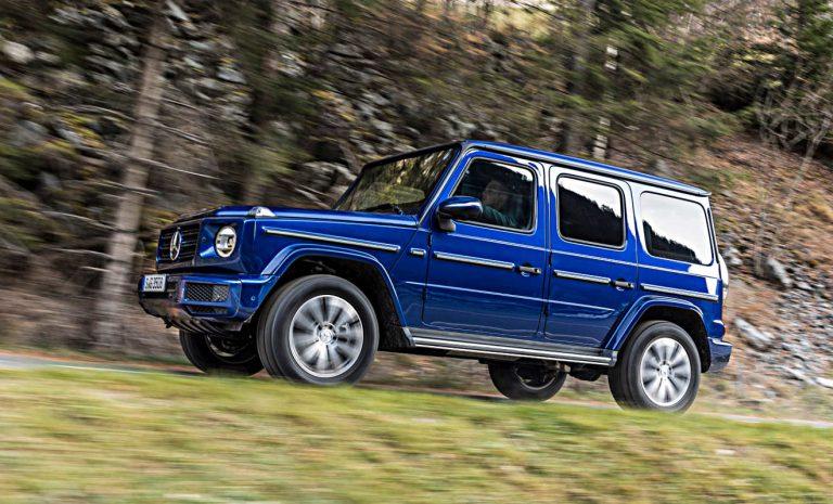 Mercedes G 350d: Ein Hauch von Sparsamkeit