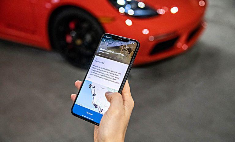 Neue App: Leihe meinen Porsche