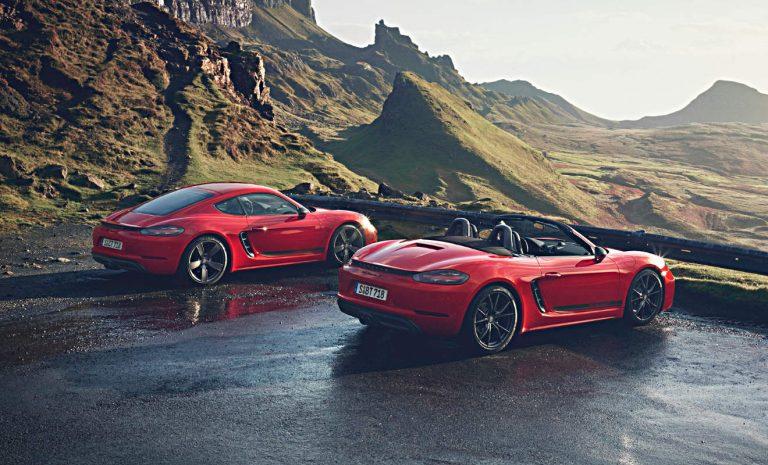 Porsche Cayman und Boxster als puristische T-Modelle