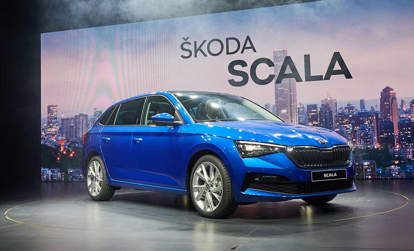 Der neue Skoda Scala. Foto: Skoda