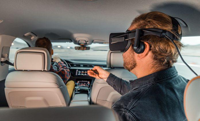 Audi und Holoride bieten VR an. Foto: dpa
