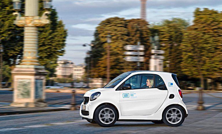 Carsharing: Car2Go startet elektrische Flotte in Paris