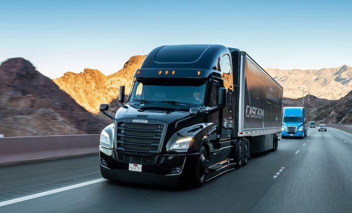 Der Daimler Freightliner Cascadia. Foto: dpa