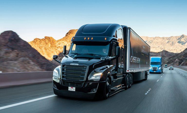 Daimler investiert in hochautomatisierte Lkw