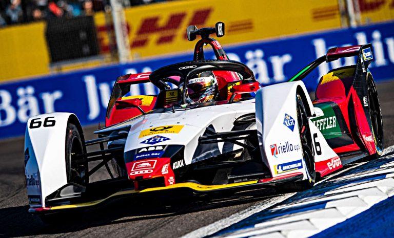 Formel E: D'Ambrosio siegt in Marrakesch im Fotofinisch