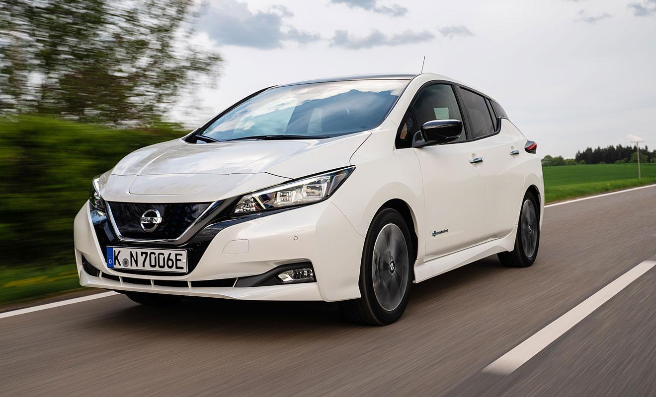 Neue Topvariante für den Leaf. Foto: Nissan