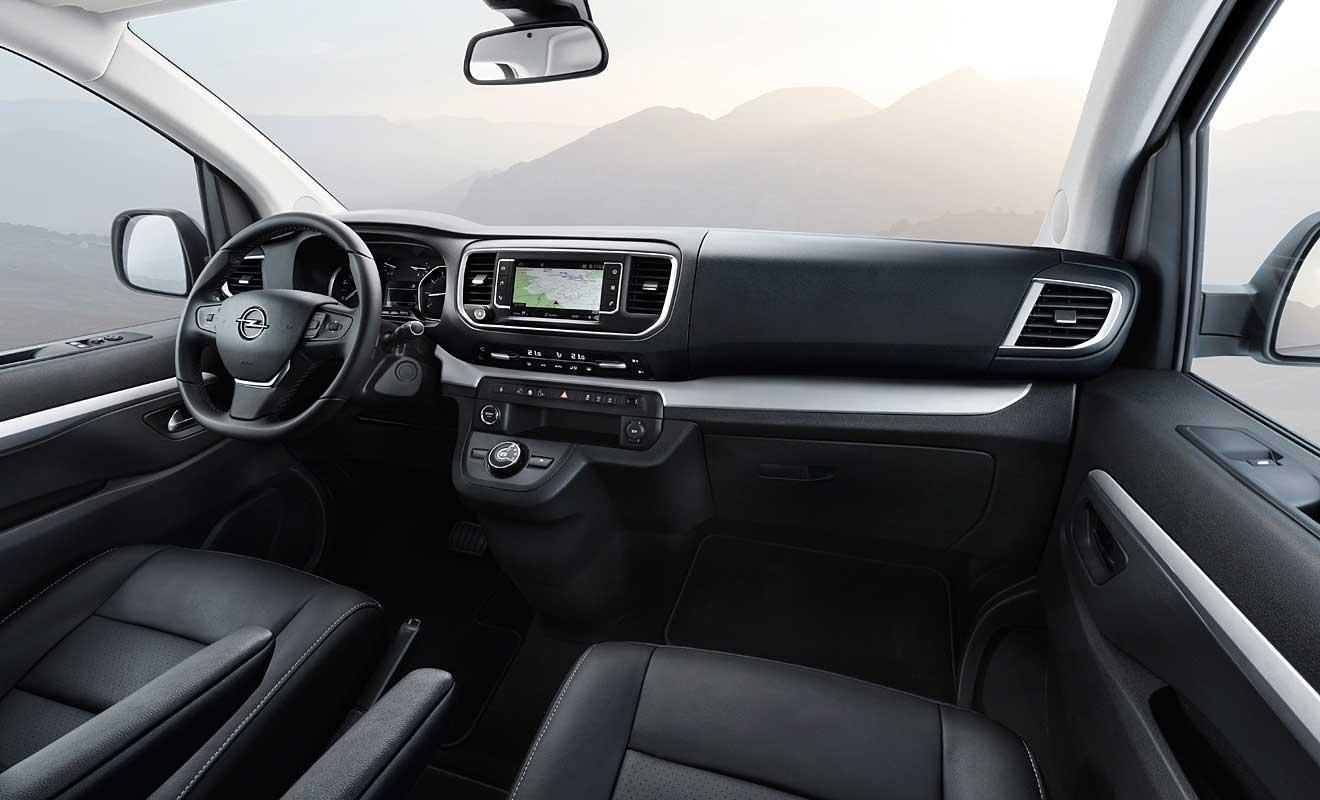 Das Cockpit des Zafira Life. Foto: Opel