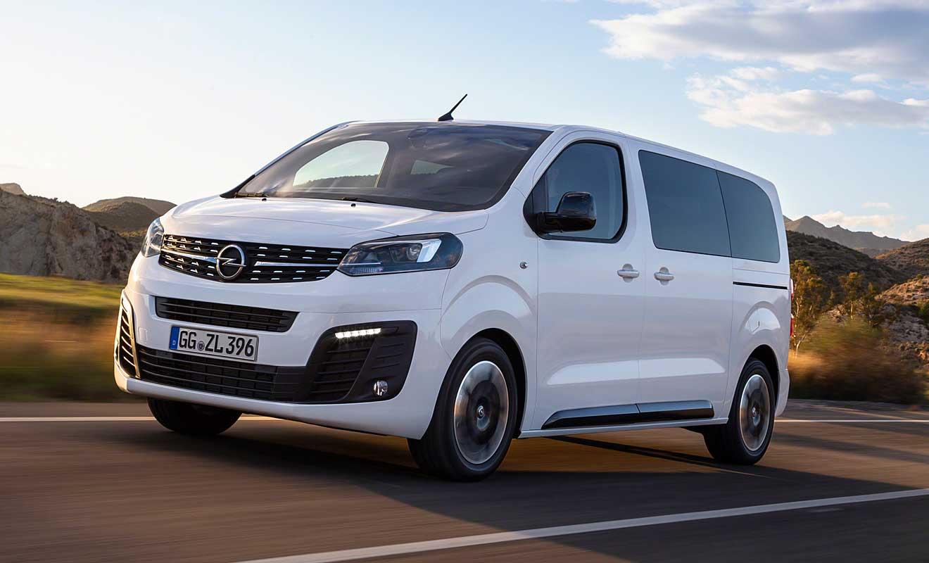 Der neue Zafira Life. Foto: Opel
