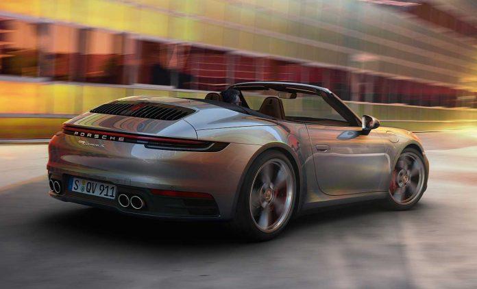 Das neue Porsche 911 Cabrio. Foto: Porsche